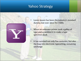 Golfers PowerPoint Templates - Slide 11