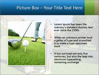 Golfers PowerPoint Templates - Slide 13