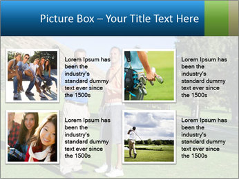 Golfers PowerPoint Templates - Slide 14