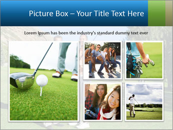 Golfers PowerPoint Templates - Slide 19