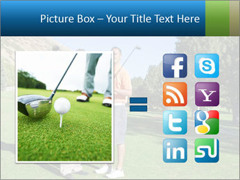 Golfers PowerPoint Templates - Slide 21