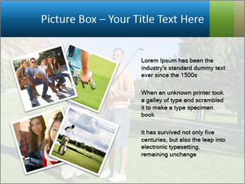 Golfers PowerPoint Templates - Slide 23