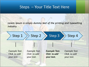 Golfers PowerPoint Templates - Slide 4
