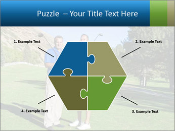 Golfers PowerPoint Templates - Slide 40
