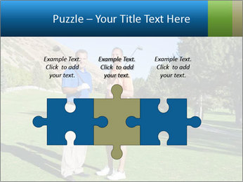 Golfers PowerPoint Templates - Slide 42