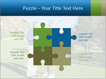 Golfers PowerPoint Templates - Slide 43