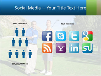 Golfers PowerPoint Templates - Slide 5