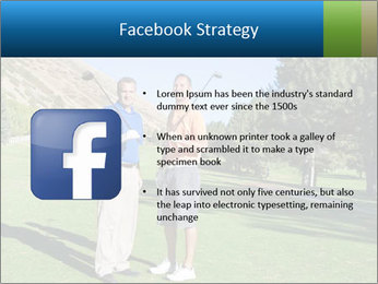 Golfers PowerPoint Templates - Slide 6