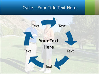 Golfers PowerPoint Templates - Slide 62