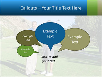 Golfers PowerPoint Templates - Slide 73