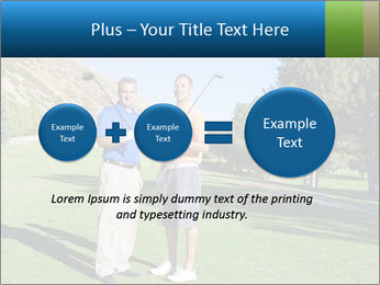 Golfers PowerPoint Templates - Slide 75