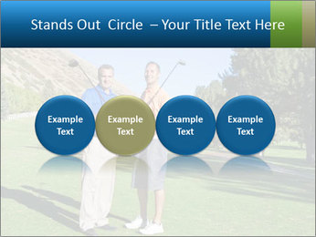 Golfers PowerPoint Templates - Slide 76