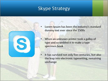 Golfers PowerPoint Templates - Slide 8