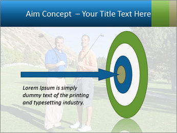 Golfers PowerPoint Templates - Slide 83