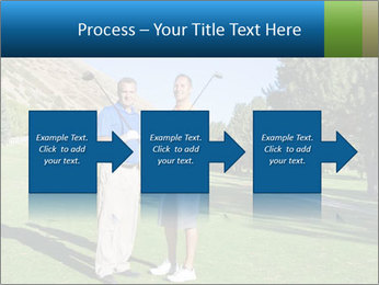 Golfers PowerPoint Templates - Slide 88
