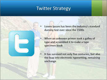 Golfers PowerPoint Templates - Slide 9
