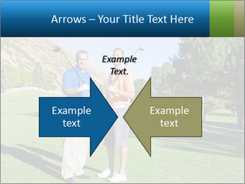 Golfers PowerPoint Templates - Slide 90