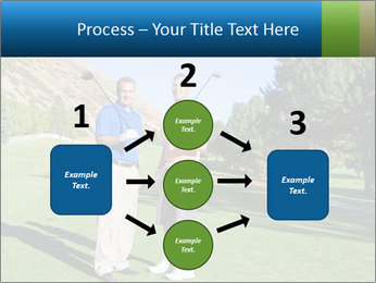 Golfers PowerPoint Templates - Slide 92