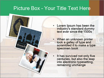 Interior of church PowerPoint Template - Slide 17