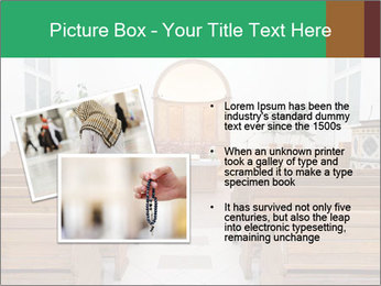 Interior of church PowerPoint Template - Slide 20