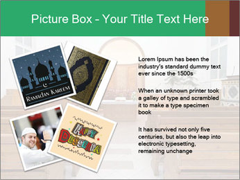 Interior of church PowerPoint Template - Slide 23