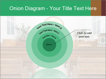 Interior of church PowerPoint Template - Slide 61