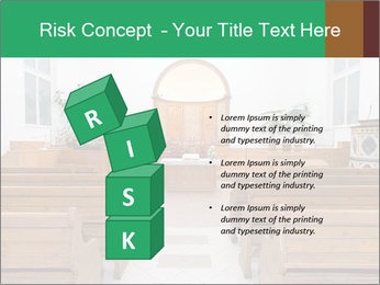 Interior of church PowerPoint Template - Slide 81