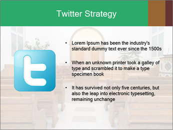 Interior of church PowerPoint Template - Slide 9