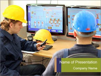 Control Room PowerPoint Template