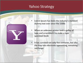Young it engeneer business man PowerPoint Templates - Slide 11