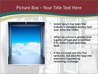 Young it engeneer business man PowerPoint Templates - Slide 13
