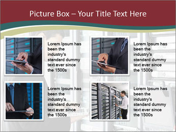Young it engeneer business man PowerPoint Templates - Slide 14