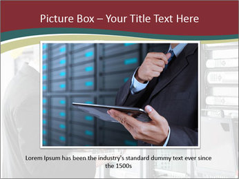 Young it engeneer business man PowerPoint Templates - Slide 15