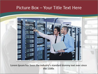 Young it engeneer business man PowerPoint Templates - Slide 16