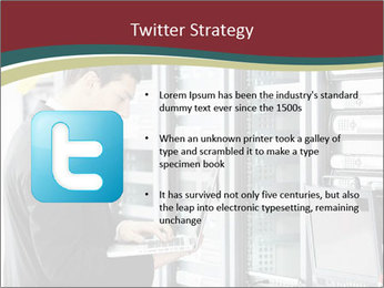 Young it engeneer business man PowerPoint Templates - Slide 9