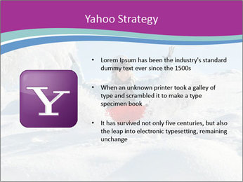 Young pretty woman PowerPoint Template - Slide 11