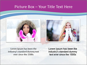 Young pretty woman PowerPoint Template - Slide 18