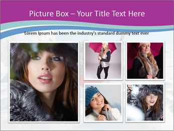Young pretty woman PowerPoint Template - Slide 19