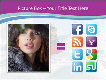 Young pretty woman PowerPoint Template - Slide 21