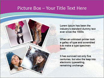 Young pretty woman PowerPoint Template - Slide 23