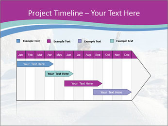 Young pretty woman PowerPoint Templates - Slide 25