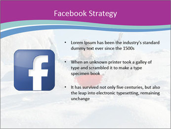 Young pretty woman PowerPoint Template - Slide 6