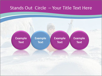 Young pretty woman PowerPoint Templates - Slide 76