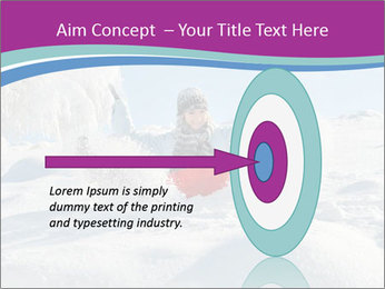 Young pretty woman PowerPoint Templates - Slide 83