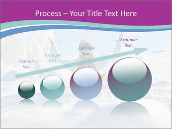 Young pretty woman PowerPoint Templates - Slide 87