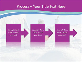 Young pretty woman PowerPoint Templates - Slide 88