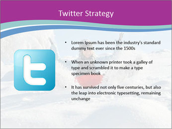 Young pretty woman PowerPoint Template - Slide 9