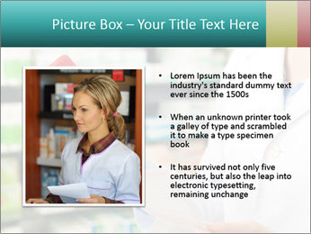 Female pharmacist PowerPoint Template - Slide 13