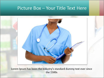 Female pharmacist PowerPoint Template - Slide 15