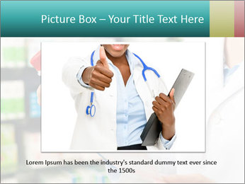 Female pharmacist PowerPoint Template - Slide 16